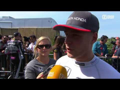 2017 | Ziggo Sport | Race Interview | Stoffel Vandoorne | Grand Prix Canada