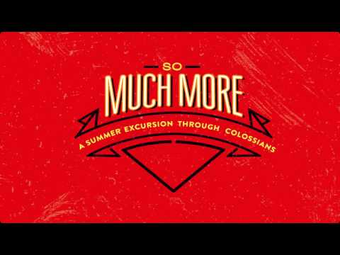 October 16, 2016 - So Much More - Dr. David Uth