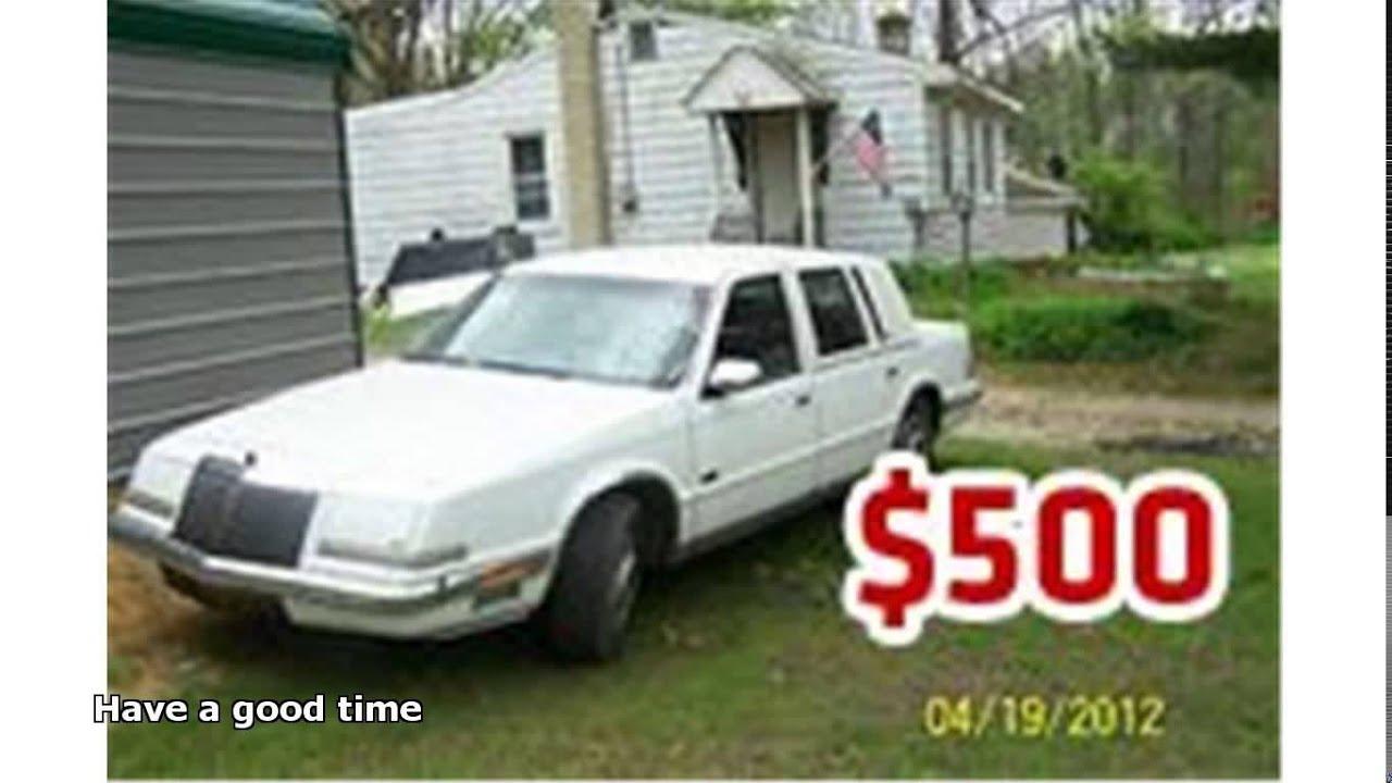 cheap cars under 1000