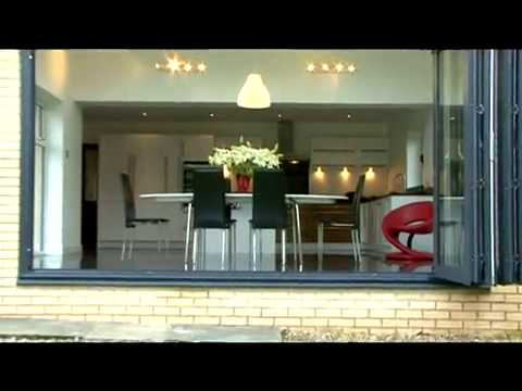 Bi fold Doors Extension & Kitchen - YouTube