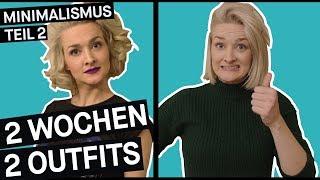 Minimalismus im Kleiderschrank: Zwei Outfits für zwei Wochen (Teil 2) || PULS Reportage