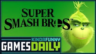 New Leaked Smash Bros  Characters? - Kinda Funny Games Daily 10.24.18