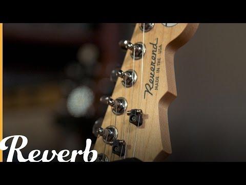 Reverend 20th Anniversary: The Avenger & Ron Asheton Signatures | Reverb Interview