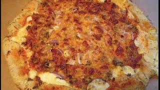 Bacon Cheeseburger Stuffed Crust Pizza!!!