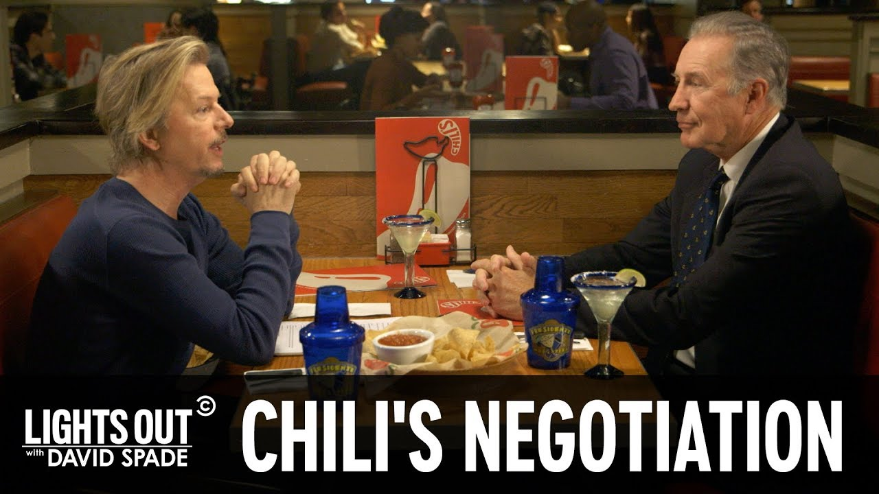 David Spade Negotiates with Chili's - Lights Out with David Spade