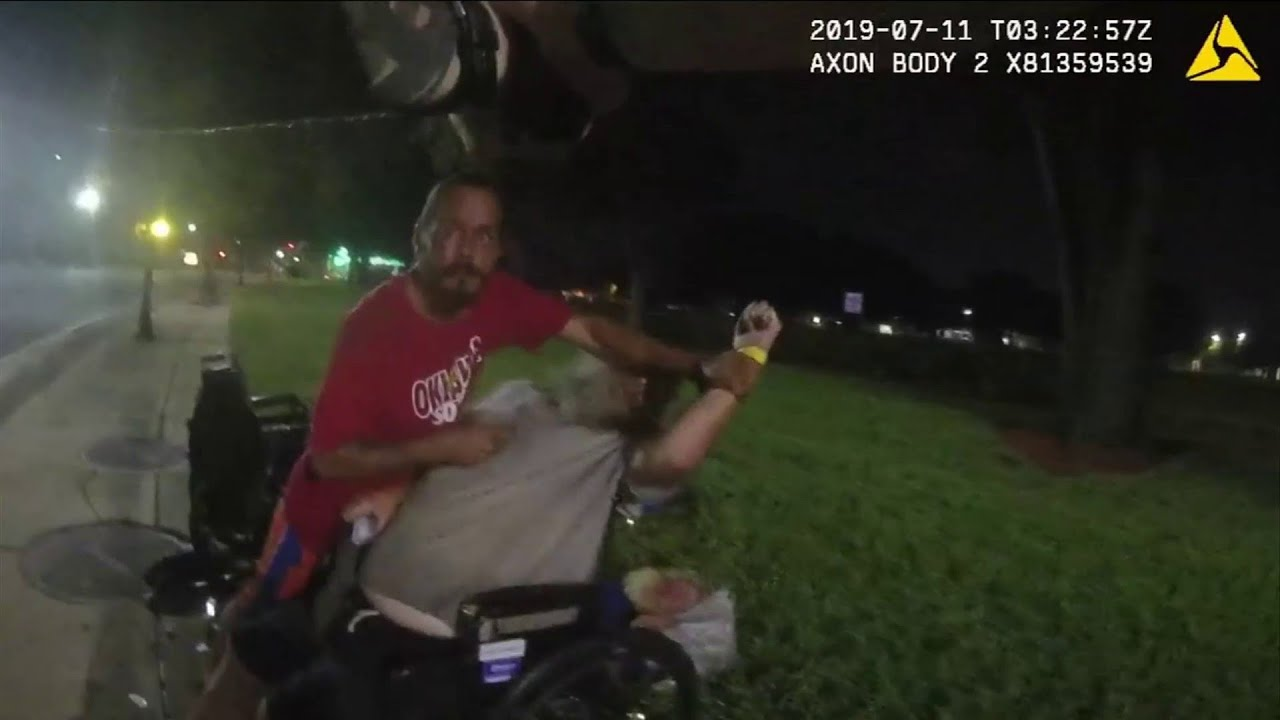 Download Jacksonville police release body cam footage of officer shooting knife-wielding man