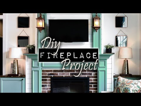The DIY Fireplace Project | DIY & Home Design Podcast