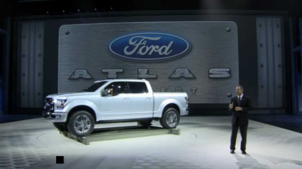 Lafontaine Ford Lansing >> 2015 Ford F-150 | Atlas Concept Reveal | Detroit Auto Show - YouTube