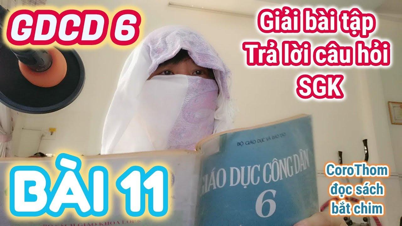 Giải bài tập SGK môn GDCD 6 - Bài 11. MỤC ĐÍCH HỌC TẬP CỦA HỌC SINH (Giáo Dục Công Dân 6)