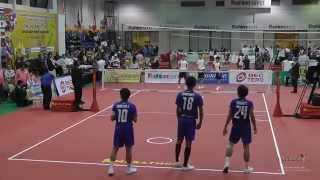Kings Cup 2014 Sepak Takraw FINAL Thailand vs. Korea - REGU GRAND FINAL