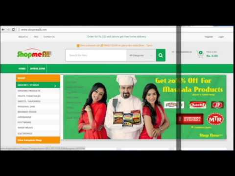 How to order grocery online in coimbatore - Shopmeall
