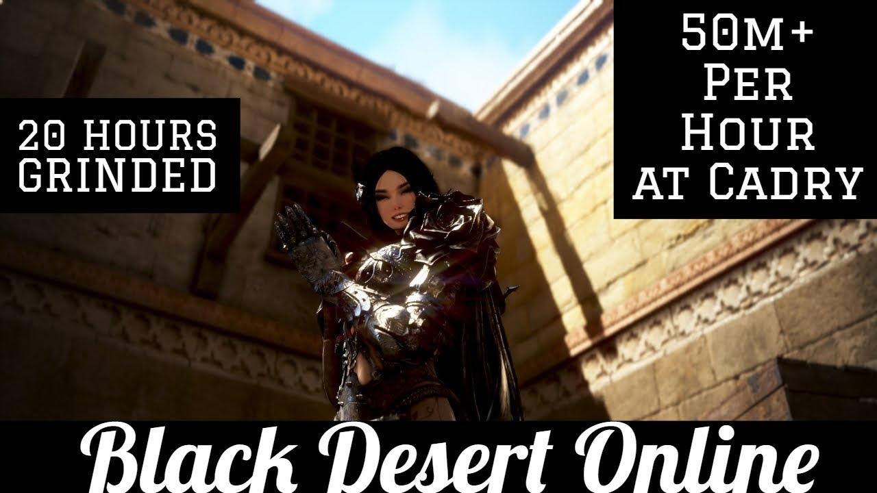 Black Desert Online [BDO] Cadry Ruins Guide - Silver Breakdown (20 Hours)