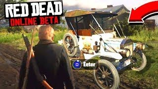 CARS COMING TO Red Dead Online?! Red Dead Redemption Possible Future RDR2 Online DLC