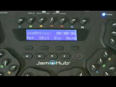 Recording With The Jamhub Tourbus Youtube