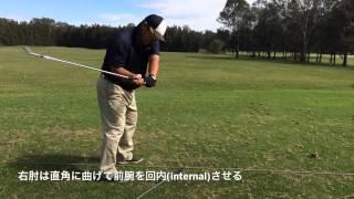 飛ばすゴルフ ゴルフスイングに必要な前腕の回転