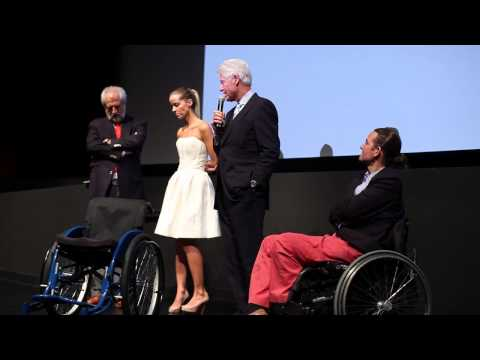 "President Clinton speaks at NY benefit premiere of ""The Way"" for the Walkabout Foundation"