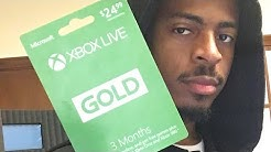 Free xbox live gold codes giveaway