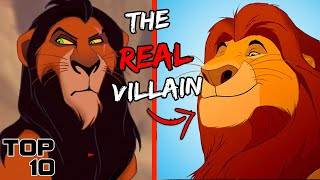 Top 10 Scary Disney Villains That Were Right All Along - Part 2