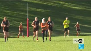 The 51%: Australian rules football seeks female players