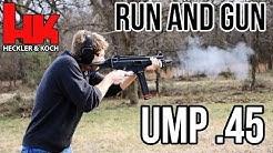 H&K UMP .45 Run and Gun (USC Conversion)