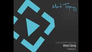 HTML - Giriş