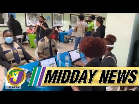 Another Nurse Dies of Covid-19   Roads Still Impassable   TVJ Midday News  - August 31 2021