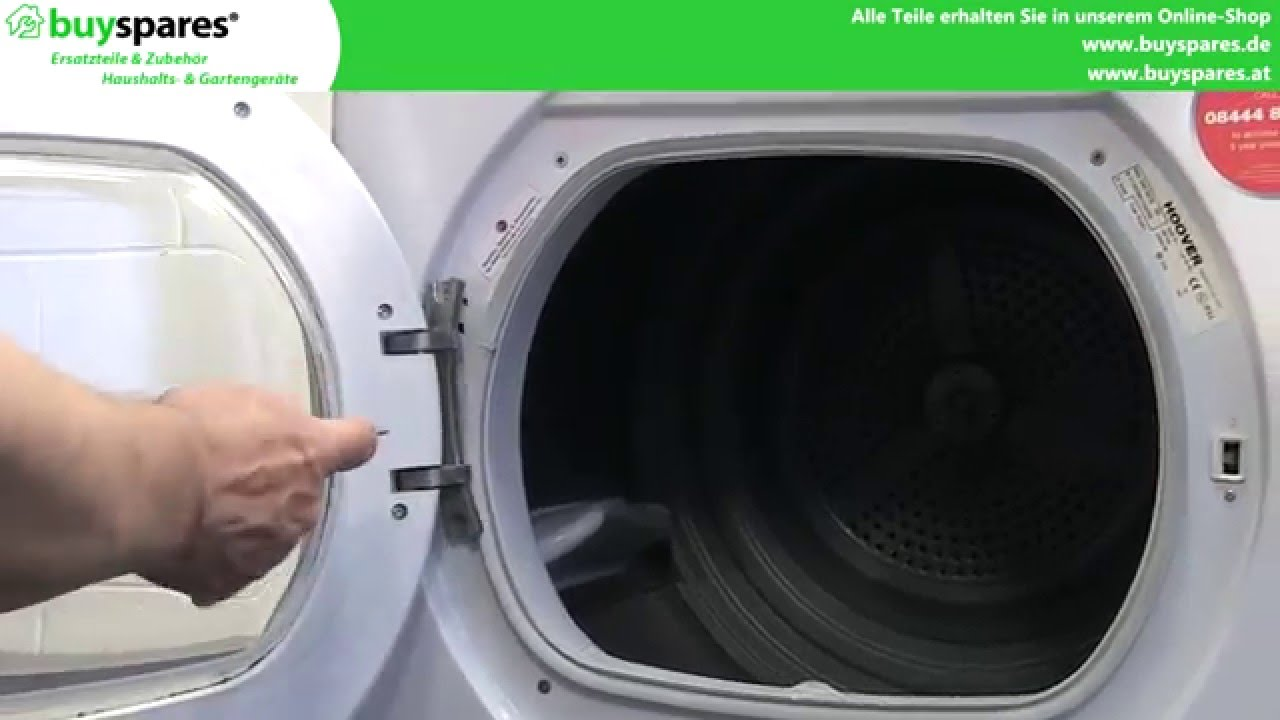Anleitung hoover wäschetrockner keilriemen ersetzen youtube