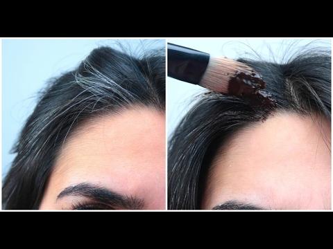 Come coprire i capelli bianchi in modo naturale - YouTube 468cab1691a1