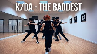 K/DA - THE BADDEST Dance Practice