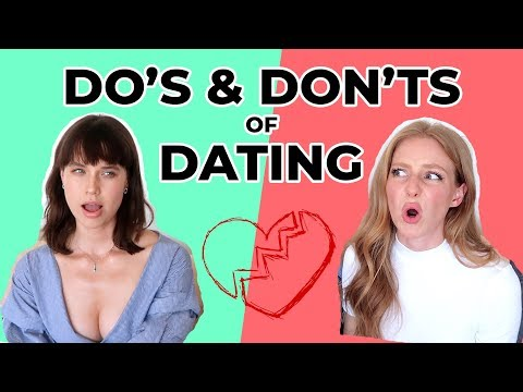 do's and don'ts of dating websites