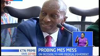 Senators grill PKF Kenya boss over medical equipment scandal leased to counties