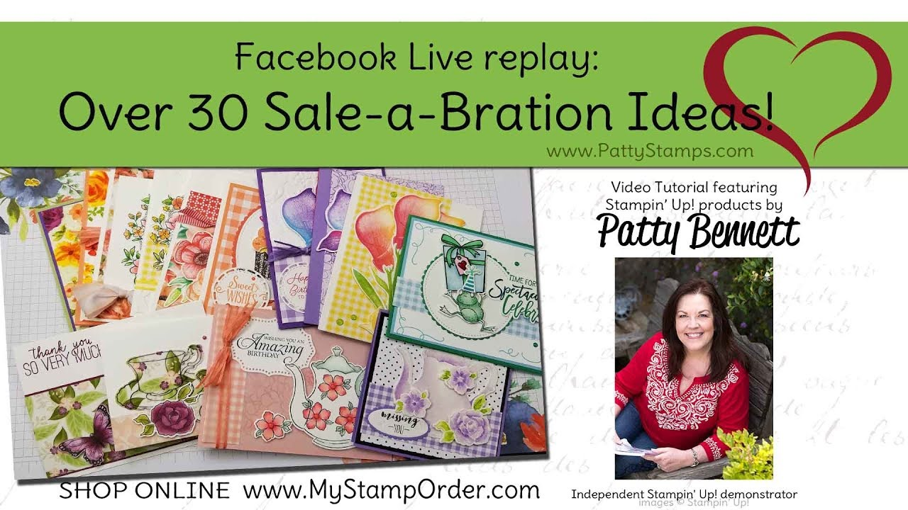 Over 30 Stampin Up Sale A Bration Card Ideas