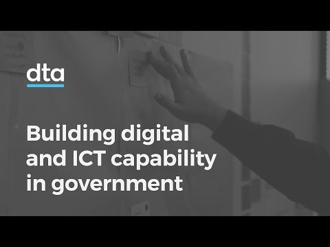 Building digital and ICT capability in government