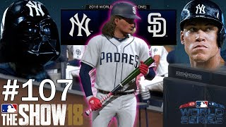 WORLD SERIES BEGINS AGAINST THE EVIL EMPIRE! | MLB The Show 18 | Softball Franchise #107
