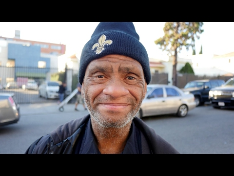 Johnny - Homeless in Los Angeles