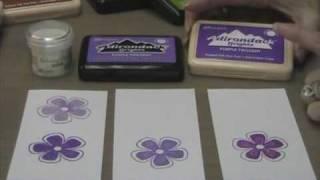 Ranger Dye Ink Pads vs Pigment Ink Pads