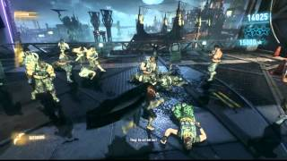 Issues with Batman Arkham Knight - Invisible Shields