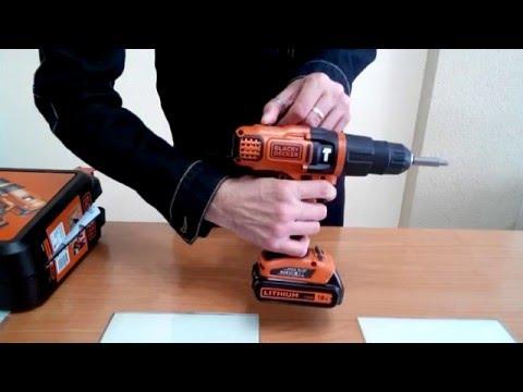 BLACK AND DECKER 18V EGBL188 ESPAÑOL Unboxing Taladro atornillador bateria 18v