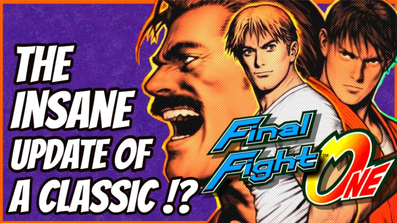 FINAL FIGHT ONE HISTORY - The GBA's Insane Update of a Classic!?