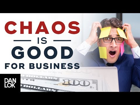 Why Chaos May Actually Be Good For Your Business - Millionaire Mindset Ep. 6