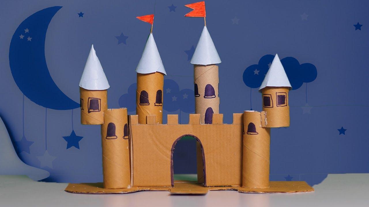 Cardboard Castle DIY Art - DIY Crafts - YouTube