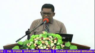 Ibadah Pendalaman Alkitab | GPT Kristus Penolong | SP 5 Bintuni - Papua Barat | 15 Desember 2020.