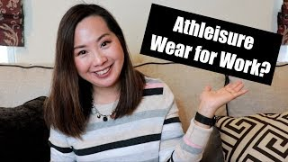 Athleisure Wear for Work | OOTD #9 | March 2019 thumbnail
