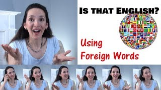 8 Foreign Words in English 🌎 What do they mean? 🤔 Vocabulary with JenniferESL