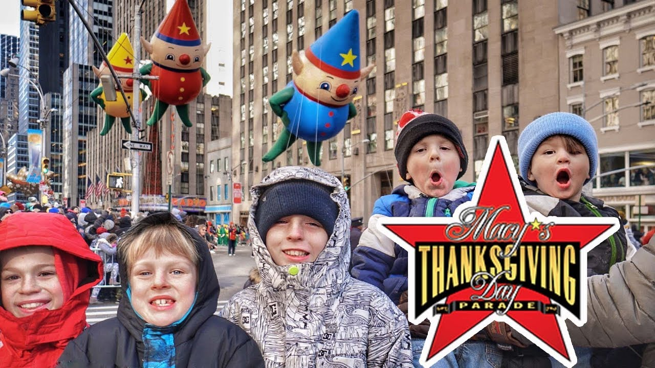 Epic family travel thanksgiving macy 39 s thanksgiving for Day trip to nyc with kids