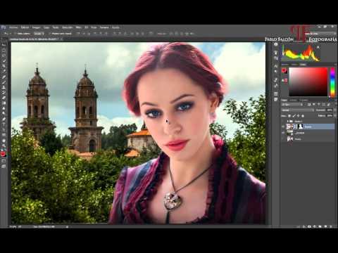 Tutorial Photoshop: Cambiar fondo de un retrato (foto-montaje).