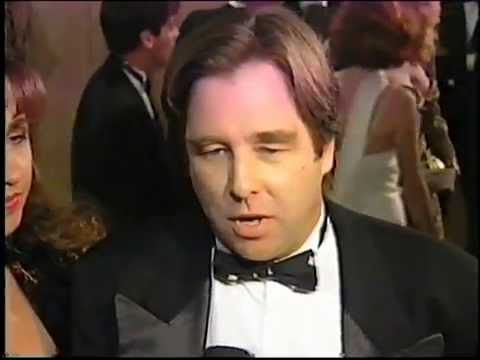 Red Carpet Interviews at 1992 Golden Globes (Raw Footage)