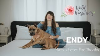 Wild Rosebuds | Endy Mattress: Our First Thoughts