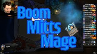 Elemental Hand Mage vs Togwaggle Druid - Hearthstone