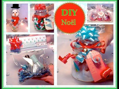 ❅ DIY Noël #2 : Idées de cadeaux à faire soi même ❅ - YouTube